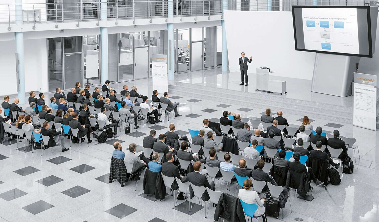 Internationale Automation ML User Conference bei Festo