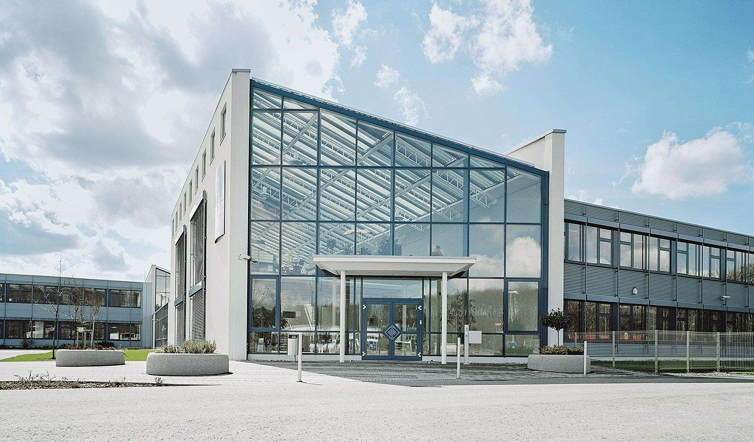 The Festo learning centre in Saar was opened in 1994.