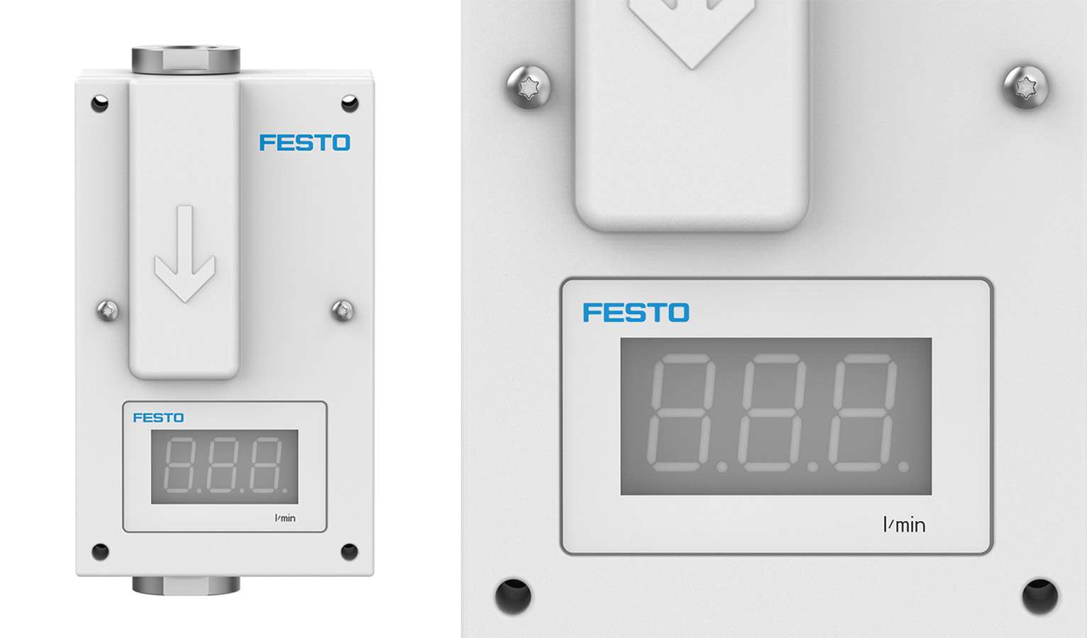 Festo's N2 purge system prevents oxygen from oxidising the wafers.