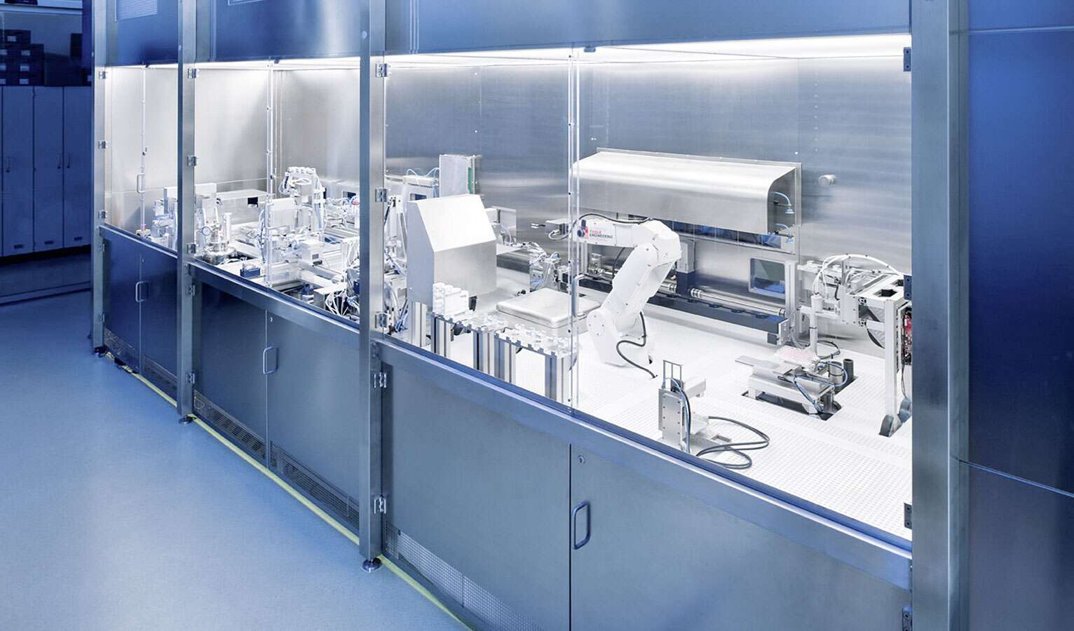 The facility for the production of artificial skin