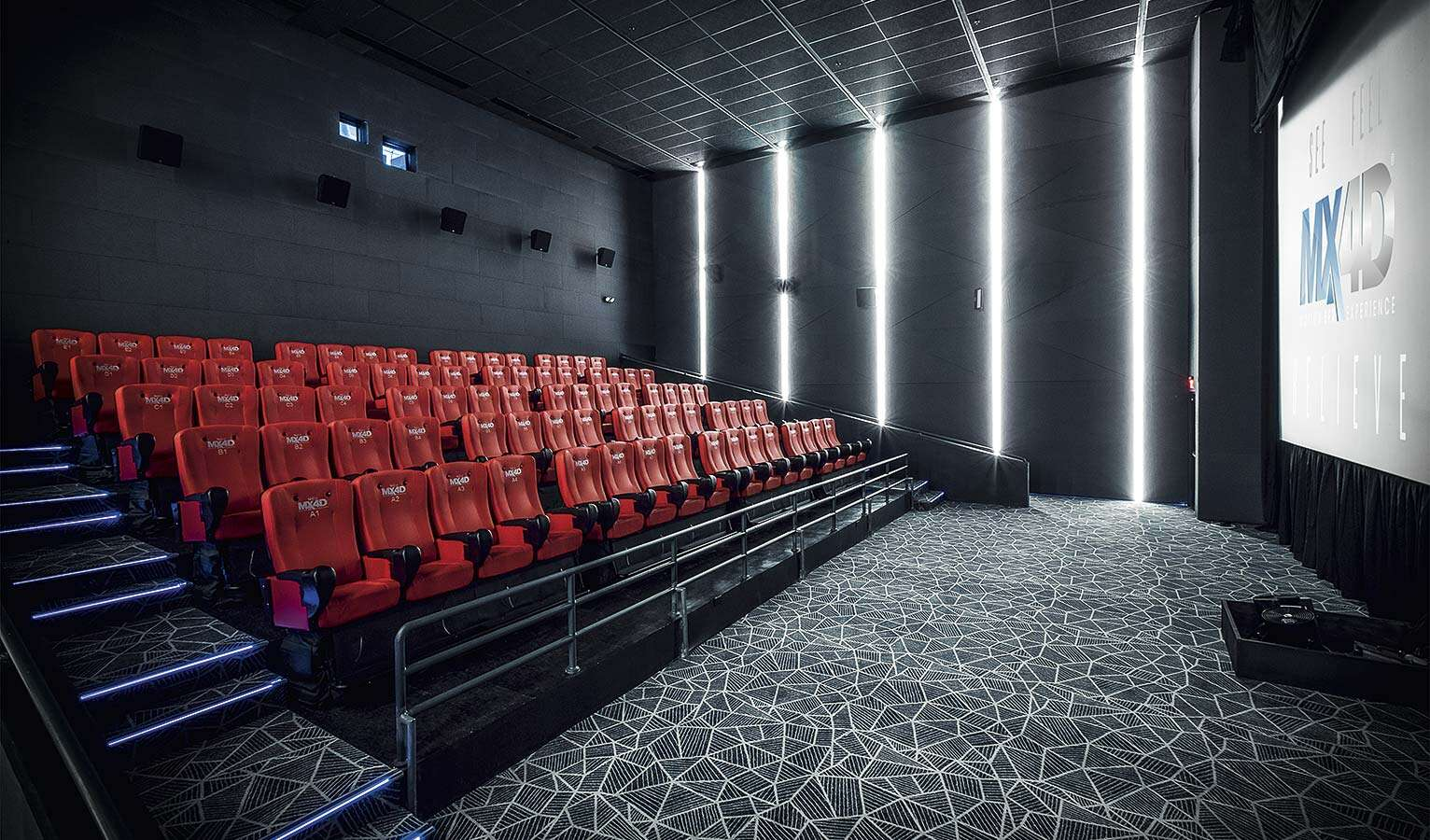 Great cinema – seats with special effects