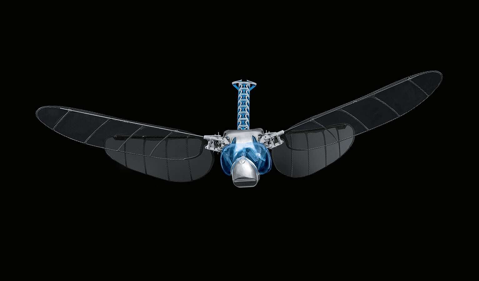 ... technically achieved for the first time with the BionicOpter from Festo