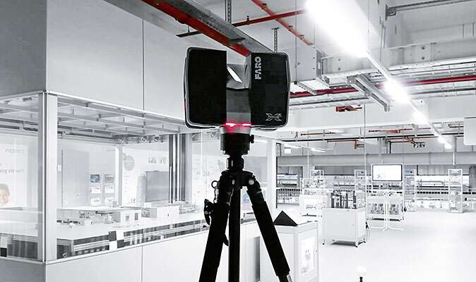 Virtual planning with 3D laser scanning