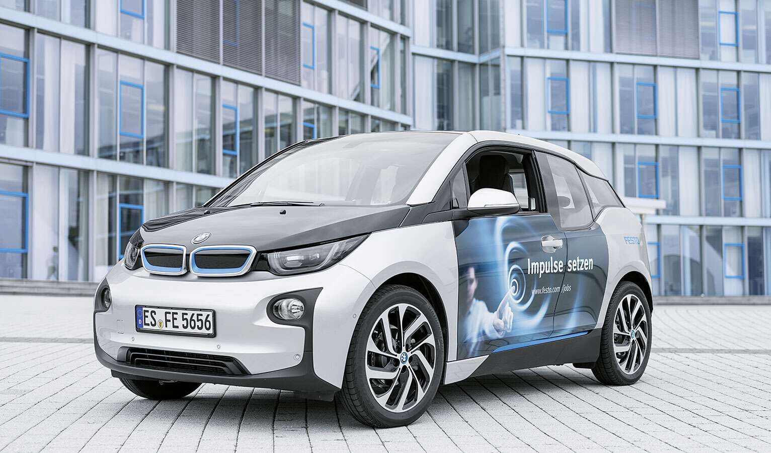 There are also electric cars in the Festo fleet