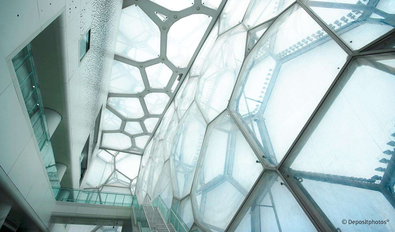 Parametric design enables organic shapes to be implemented for buildings