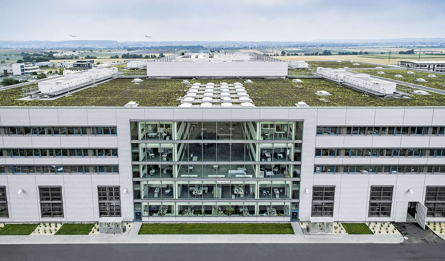 Sustainable construction: the Scharnhausen Technology Plant