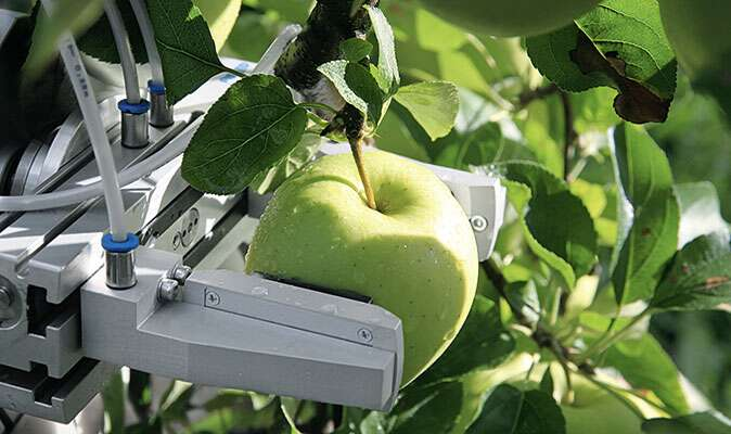 CROPS research project develops harvesting robot