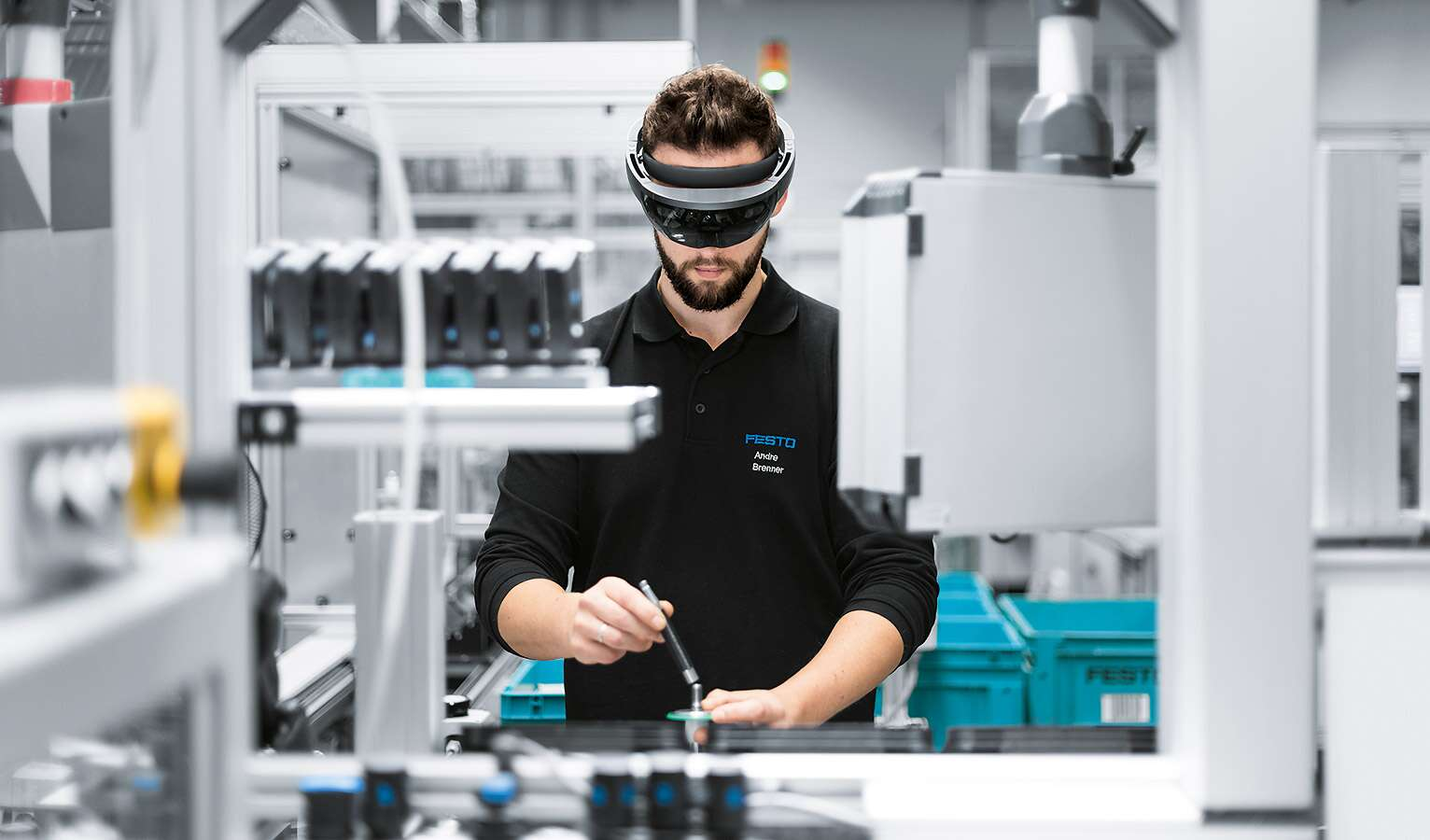 Testimonials by entry-level newcomers at Festo