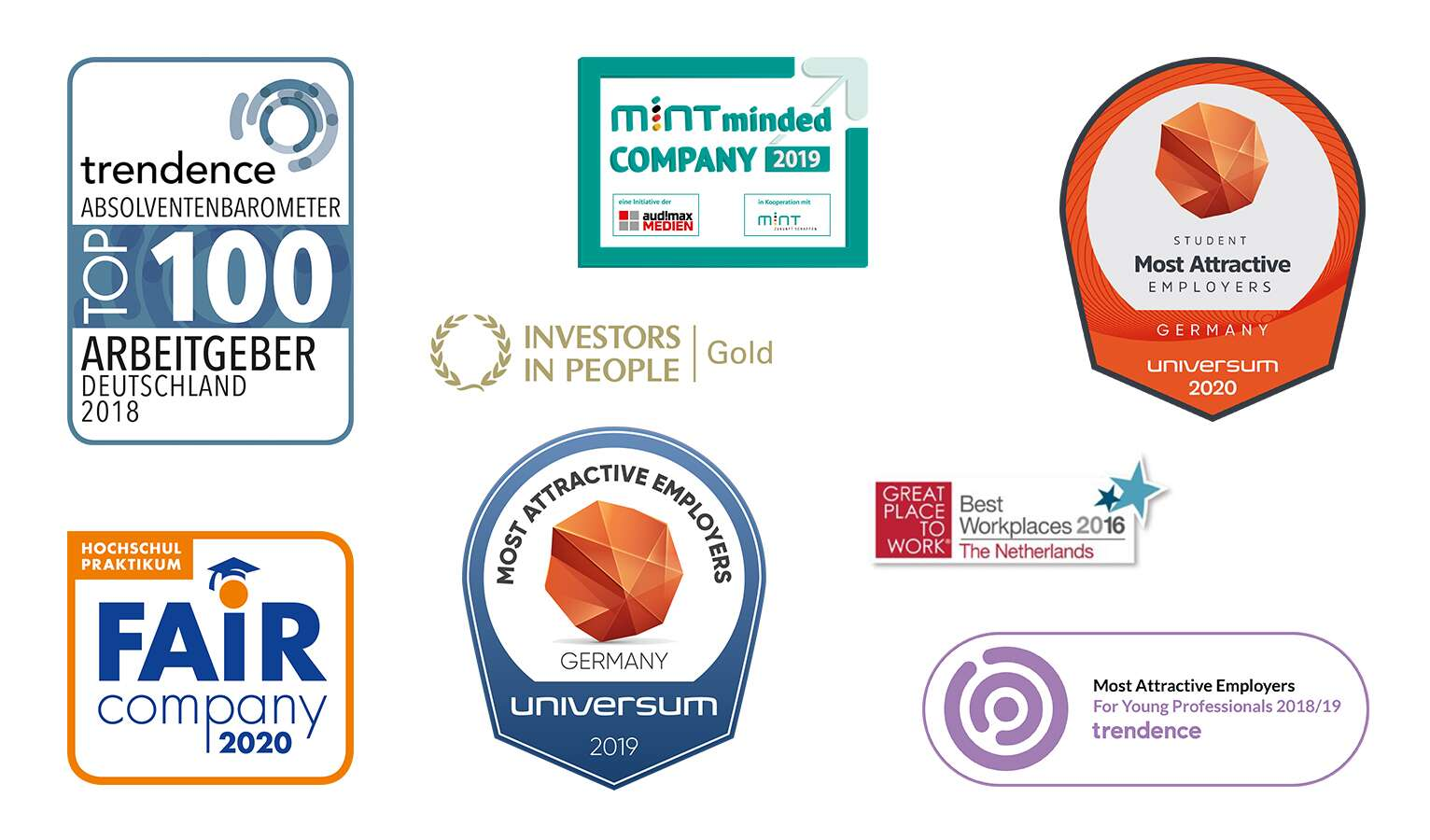 Our latest accolades