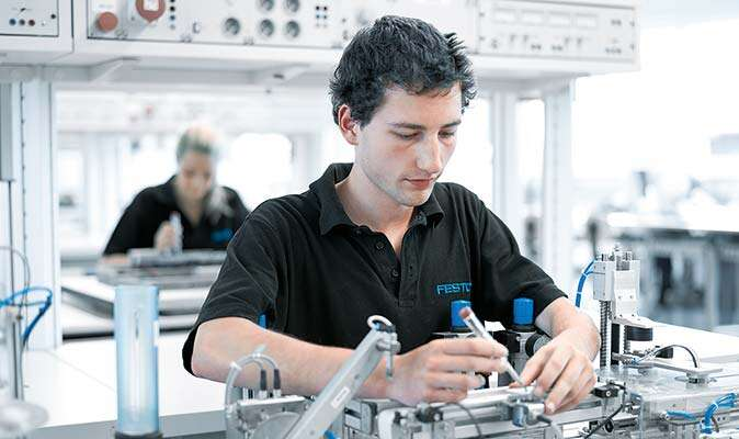 Work experience placements at Festo