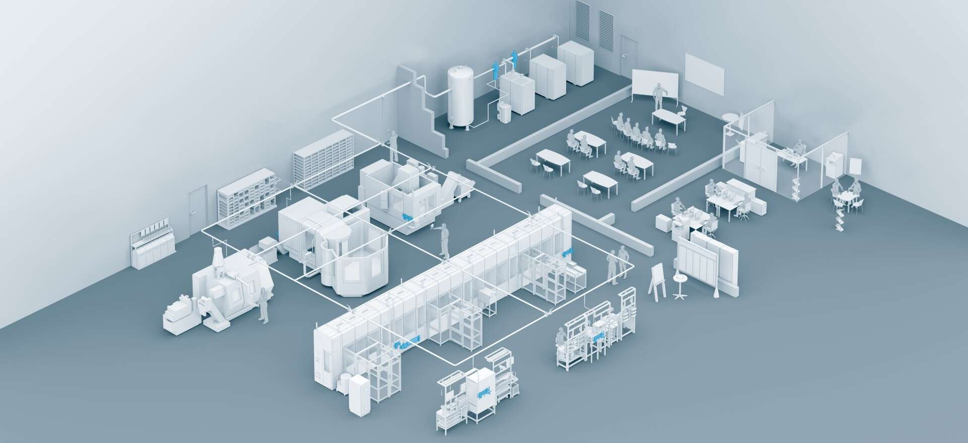 Energy efficiency overview factory