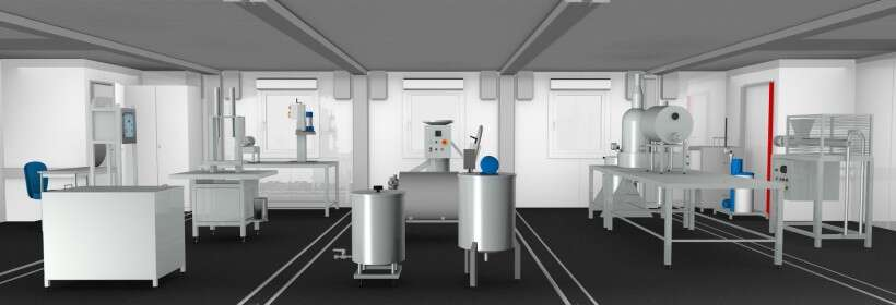 Learning environment for food processing