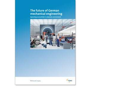 The future of German mechanical engineering