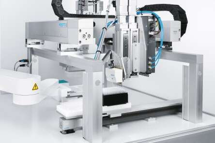 Life science automated sample preparation