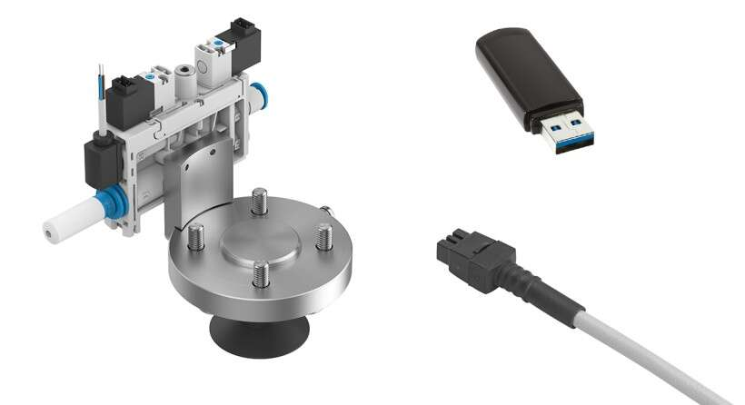 Robot gripper kit scope of delivery OVEL