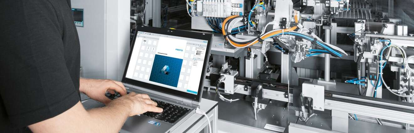 Digitalization of production: Automation Suite