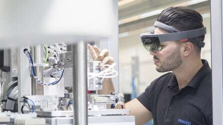 Augmented reality in production