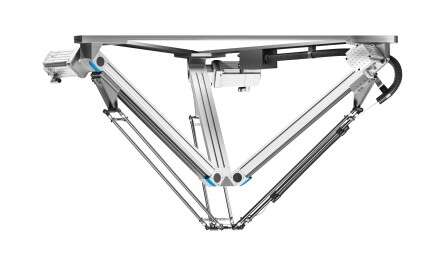 Parallel kinematic system Tripod EXPT