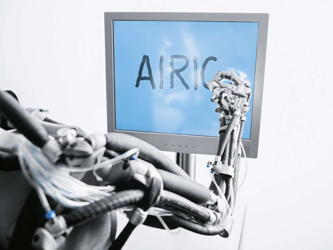 Festo Airic's_arm: automated motion sequences based on a natural role model