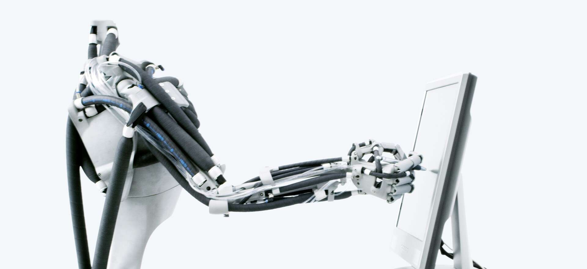 Festo Airic's_arm: robot arm with Fluidic Muscle