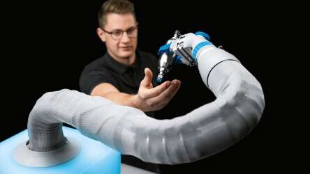 The BionicSoftArm as a flexible assistance system: a helping third hand in assembly