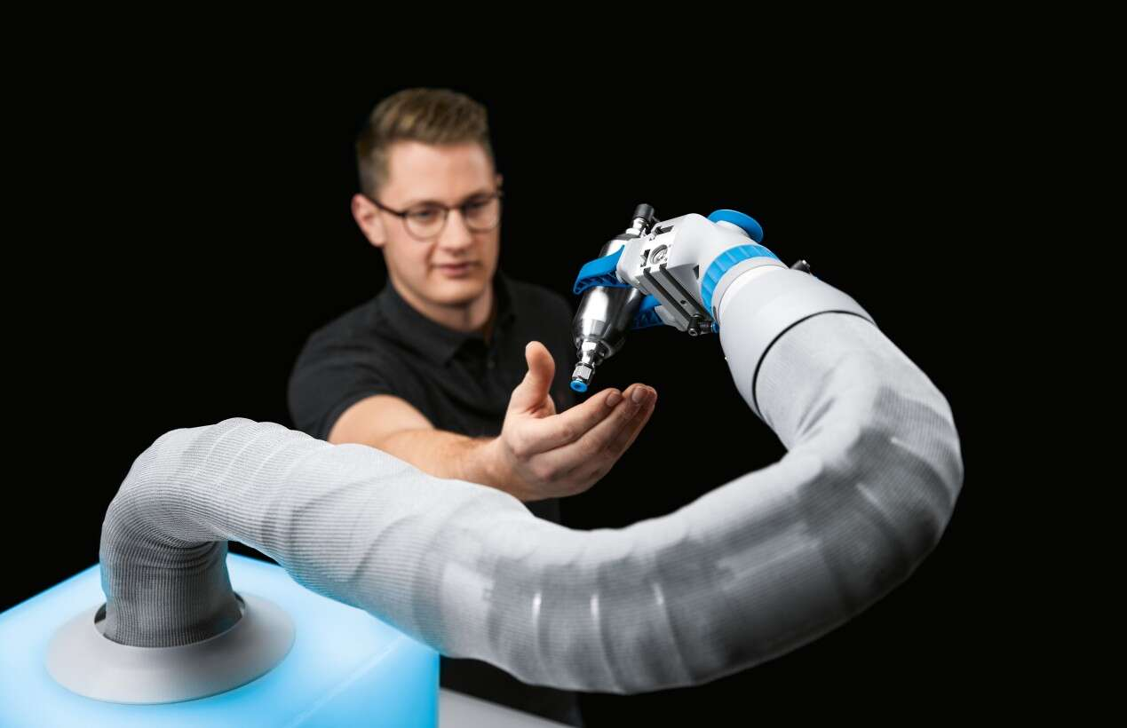 The BionicSoftArm as a flexible assistance system: a helping third hand during assembly