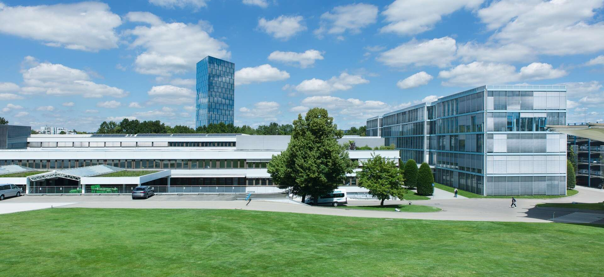 Headquarters and AutomationCenter at Festo's corporate head office in Esslingen-Berkheim, Germany