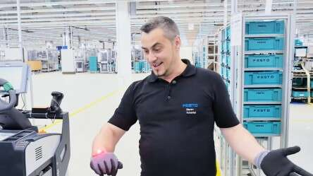 Video: The ProGlove in action at Festo