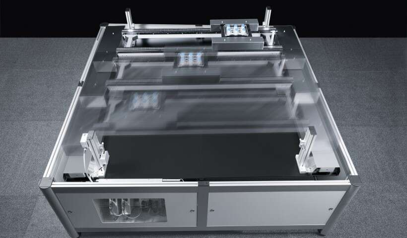Festo SupraHandling: unlimited positioning in a spatial plane without contact