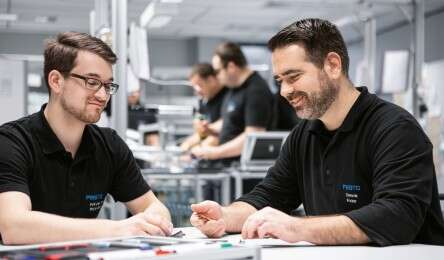 Process quality at Festo