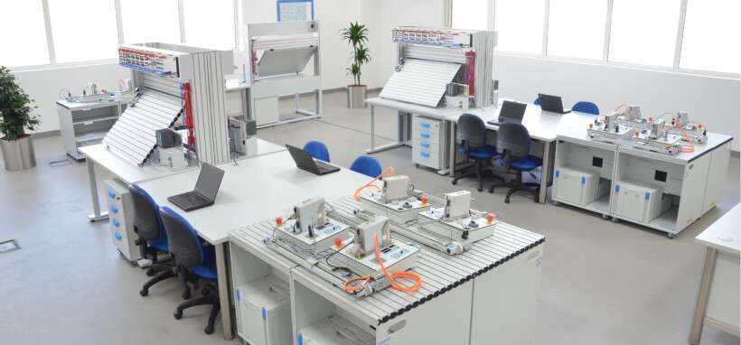 Reference project: learning laboratory Abu Dhabi Polytechnic