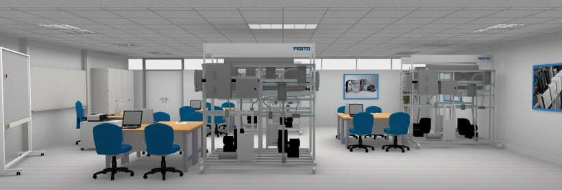 Learning environment for industrial wiring