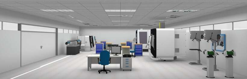 Learning environment for professional CNC machining