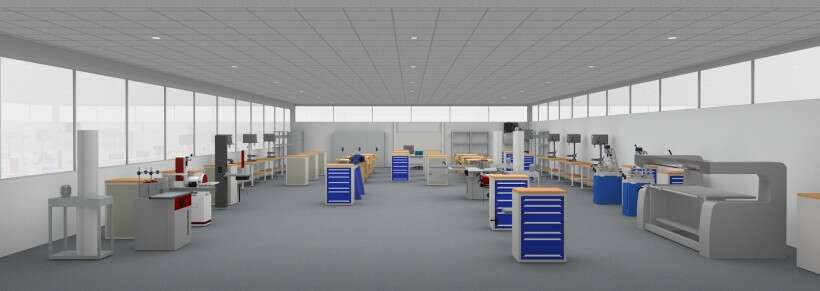 Learning environment for woodworking