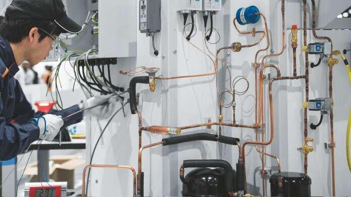 Training solutions HVAC system installation