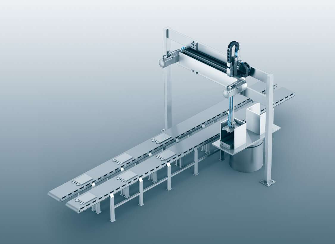 Linear gantry for battery manufacturing