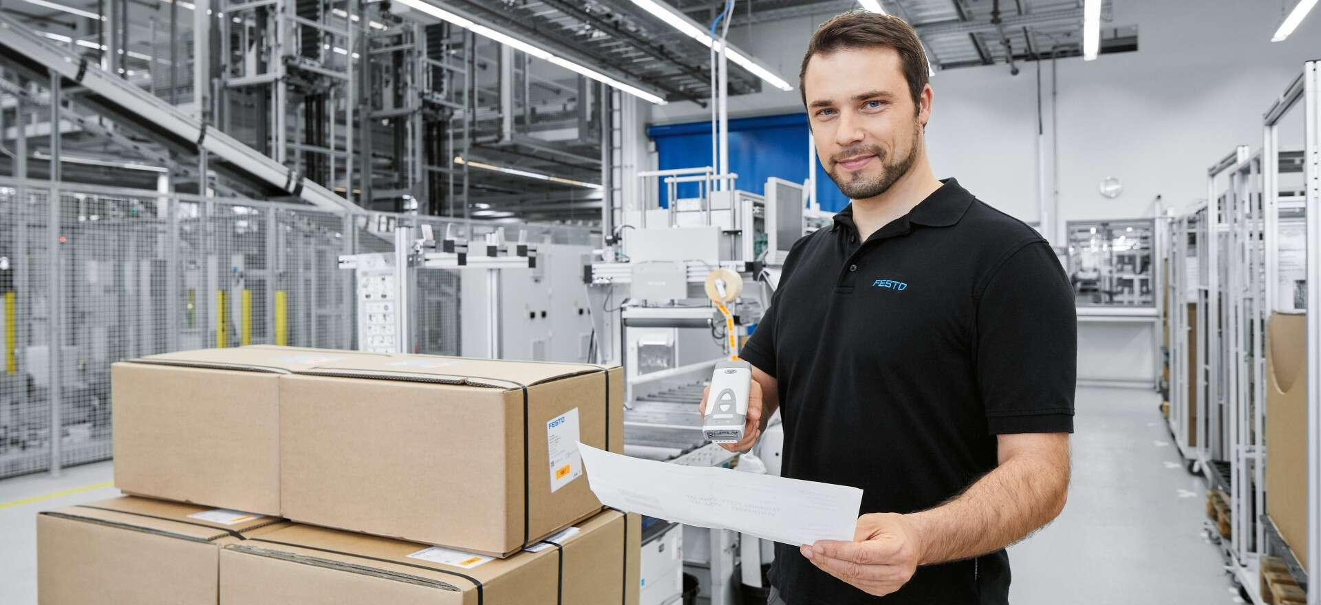Delivery service from Festo