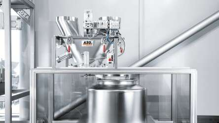 AZO CleanDock docking and undocking via the CPX-CEC from Festo
