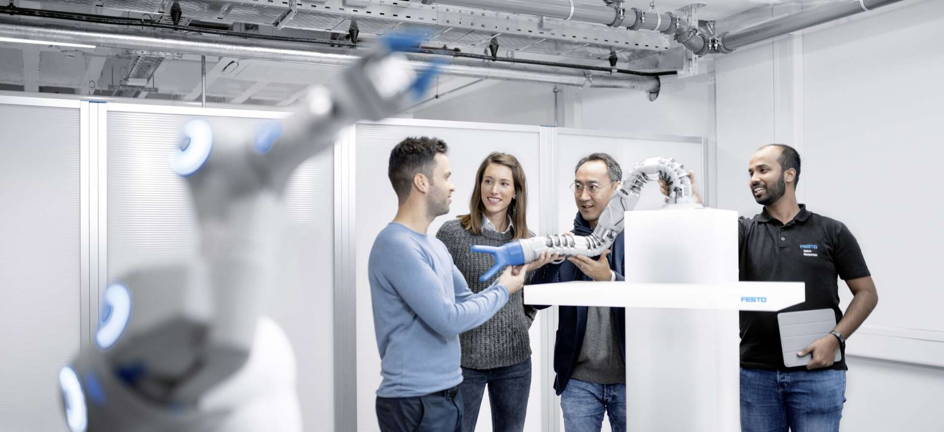 Festo: the different departments