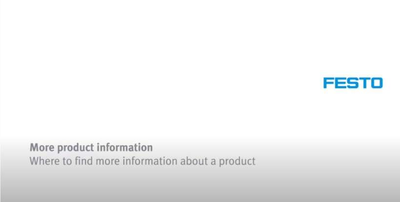 How to find more information on a product