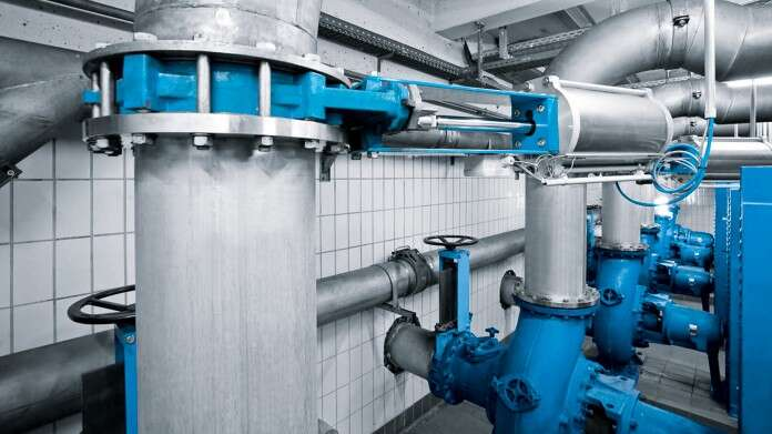 Pumping station without check valve