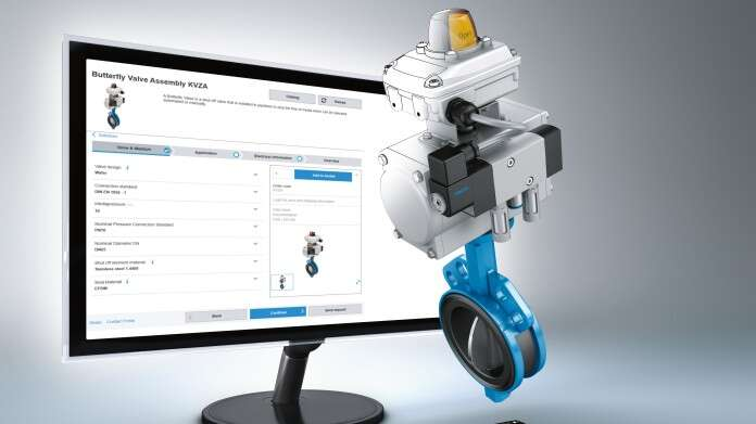 Configurator for process valve units