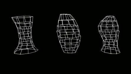 Festo 3D Cocooner: thanks to the parametric design, a wide range of variants can be generated from one and the same basic shape