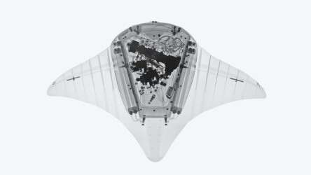 Festo Aqua_ray: the X-ray image of the interior workings of the highly integrated system