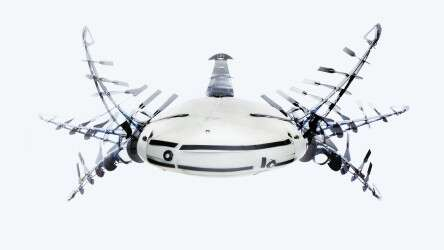 Festo Aqua_ray: the entire motion sequence of the beating wing drive with Fin Ray Effect®
