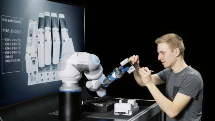 Conceivable future scenario: the BionicCobot as an assistance system in assembly