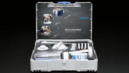 Festo Bionics4Education: The Bionics Kit is a construction kit for trying out and learning
