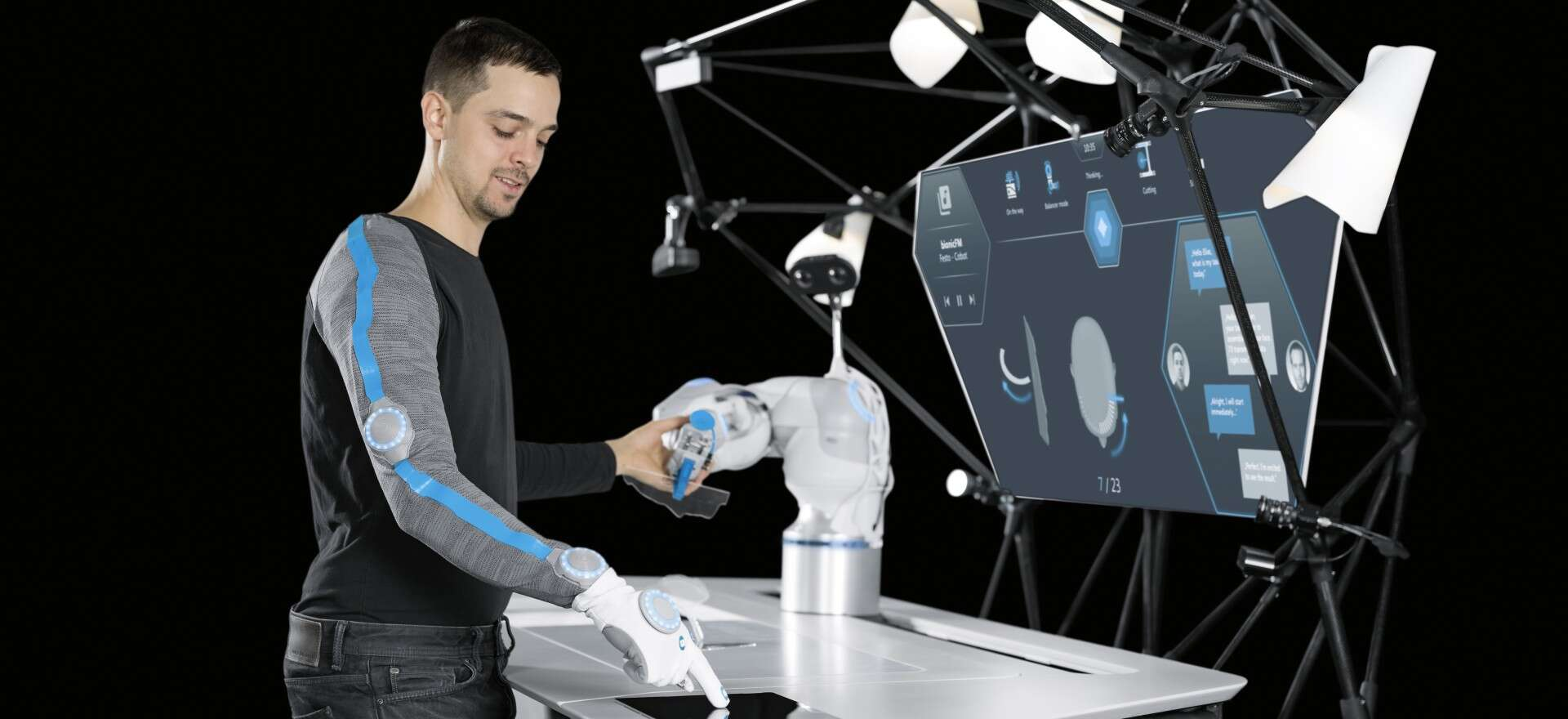 BionicWorkplace: human-robot collaboration with artificial intelligence