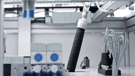 Tilting the playing field with compressed air: the DMSP-20 pneumatic muscles