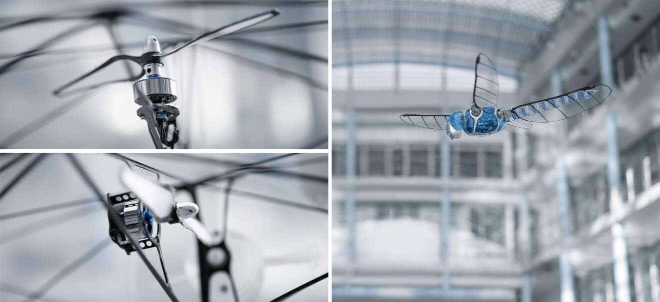 Festo FreeMotionHandling and BionicOpter